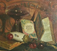 still life with cherries by theodore seth jacobs