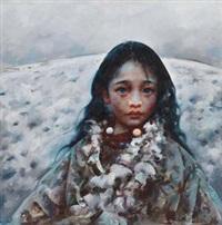 无声的雪 by ai xuan
