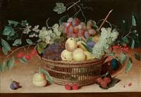 stillleben mit früchtekorb by isaac soreau