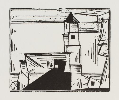 troistedt 1919 1978 auf der quaimauer 1923 1983 gelbe dorfkirche 3 1931 1978 3 works by lyonel feininger