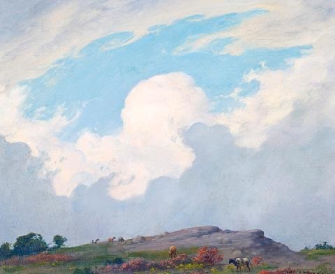 coming shower by charles courtney curran