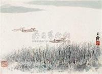 江南小景 by zhang wenjun