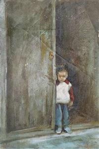 kind am eingangstor by luo zhongli
