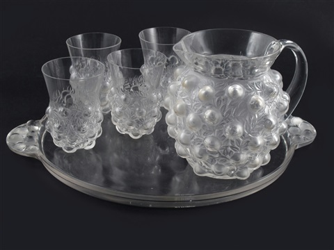 setubal no3180 lemonade set 6 works by rené lalique