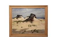 provincetown dunes by albert lorey groll