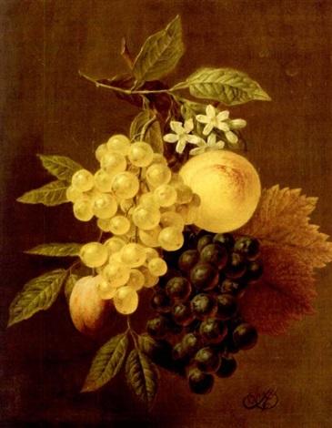 früchte und blütengehänge by arnoldus bloemers