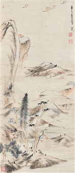 landscape of the yangtze river by bada shanren