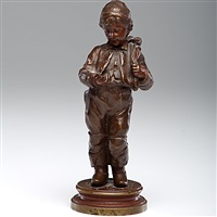 boy with coins by nicholas lecornet