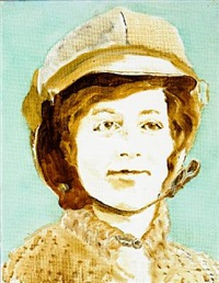 harriett quinby. the first female pilote to fly over the english channel by simone aaberg kaern