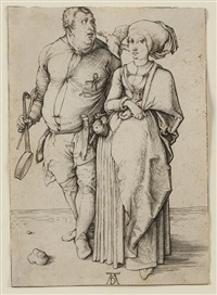 the cook and his wife by albrecht dürer