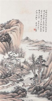 山水 by li shou'an