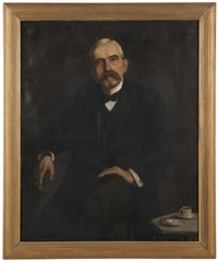 portrait of a distinguished gentleman by david anthony tauszky