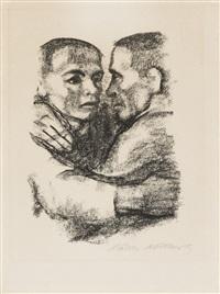 verbrüderung (vor juli 1924) by käthe kollwitz