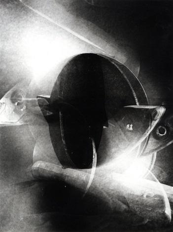 ohne titel aus dem 40teiligen space tableau by dieter appelt