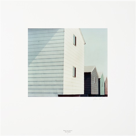 homes for america (6 works) by dan graham