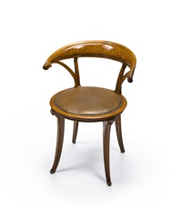armchair by edouard collet and lucien levy-dhurmer