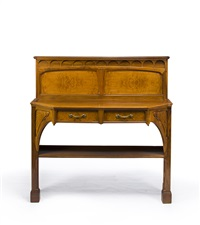 sideboard by edouard collet and lucien levy-dhurmer