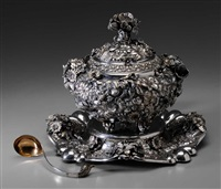 tureen (+ ladle; 2 works) by grand (co.)