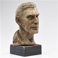 bust depicting john grabar by waylande gregory