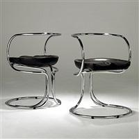 chairs (pair) by vladimir tatlin