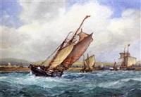 shipping off shoreham by frederick james aldridge