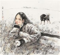 少女 by ai xuan