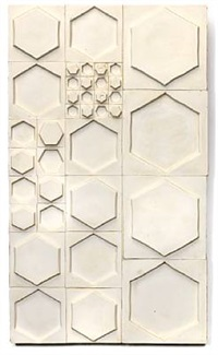wall plaque tiles by rut bryk