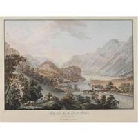 sortie de l'aar du lac de brienz by gabriel ludwig lory