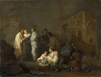 the fortune-teller by willem de poorter