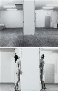 interruption in space (set of 5) by ulay & marina abramovic