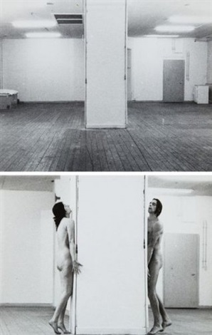 interruption in space set of 5 by ulay marina abramovic
