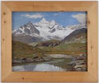 le petit lac du blanchert obergabelhorn by angelo abrate