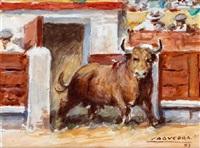 salida del toril by santos saavedra