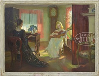 the sunlit alcove by marguerite stuber pearson
