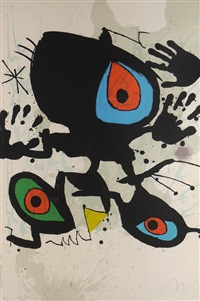 homage to miro by joan miró