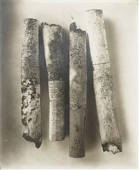 cigarettes neg. #86 by irving penn