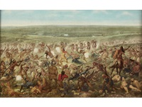 custer's last fight by f. otto becker