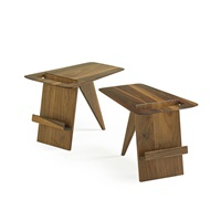 magazine stands (pair) by jens risom
