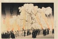 maruyama shidare-zakura by kampo yoshikawa