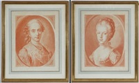 louis xv (+ 4 others; 5 works) by louis marin bonnet