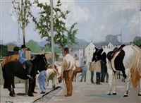 westport ii, horse fair by alex mckenna