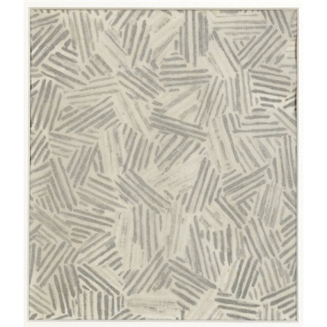 silver cicada souvenir 2 works by jasper johns