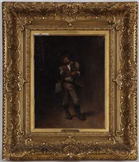 le jeune garçon by léon joseph florentin bonnat