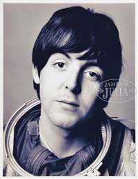 the beatles (4 works) by richard avedon