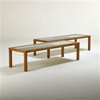low tables (pair) by gordon martz