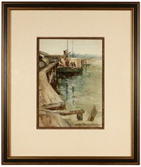 fisherman's wharf, monterey by georgine graves bordwell