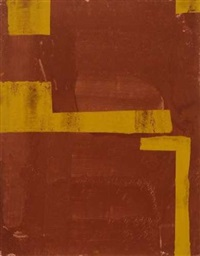 ohne titel (4 works, various sizes) by thomas bechinger