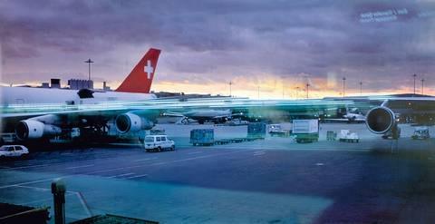 ohne titel (airport zürich, 2000) (in 3 parts) by peter fischli and david weiss