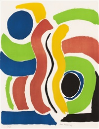 jeux d'enfants (sold with 120b; set of 2) by sonia delaunay-terk