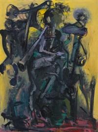 danse macabre (gelb) by max kaminski